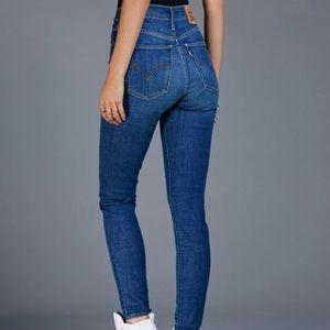 Levi's x Free People Mile High Super Skinny Jeans